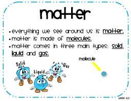 Re: Matter